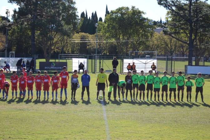 Les photos du match face à l'AS Béziers en U15