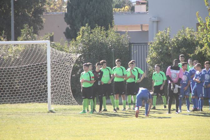 Les photos du match des U19 en Coupe Gambardella