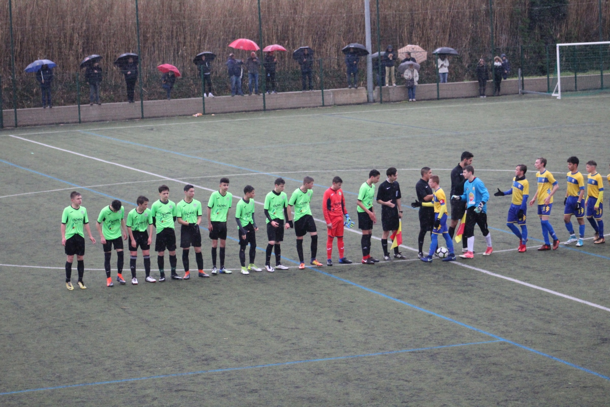 Les photos du match de Coupe du Roussillon de nos U15.