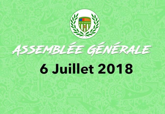 Assemblée Générale 2018